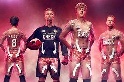 Английский футбольный клуб представил прозрачную форму