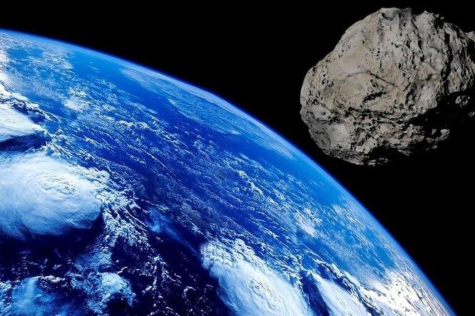 В США засняли навидео полет астероида
