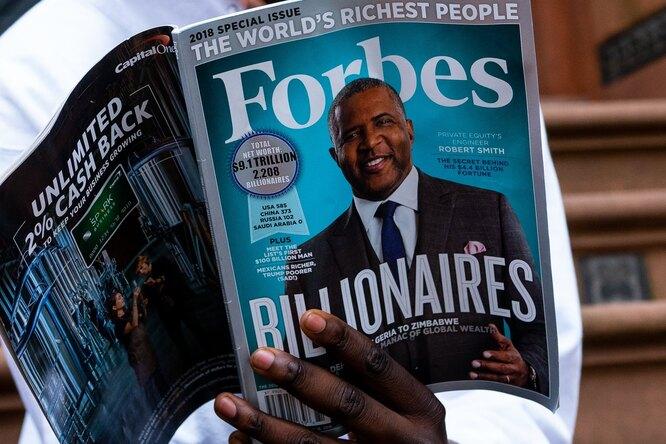 Forbes представил свежий рейтинг богатейших россиян. Внем новый лидер
