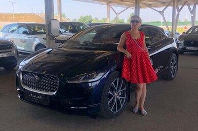 Ladies First: натест-драйв электрического кроссовера I-PACE компания Jaguar Land Rover Россия пригласила девушек