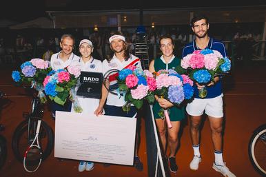 Компания Bosco ифонд «Друзья» провели третий благотворительный теннисный турнир BOSCO FRIENDS OPEN