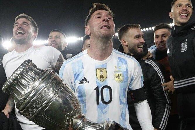 Месси обошел Пеле поколичеству голов заюжноамериканскую сборную истал новым рекордсменом