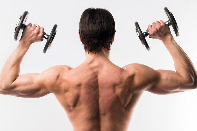 Эффективное упражнение намышцы спины длямужчин старше 40