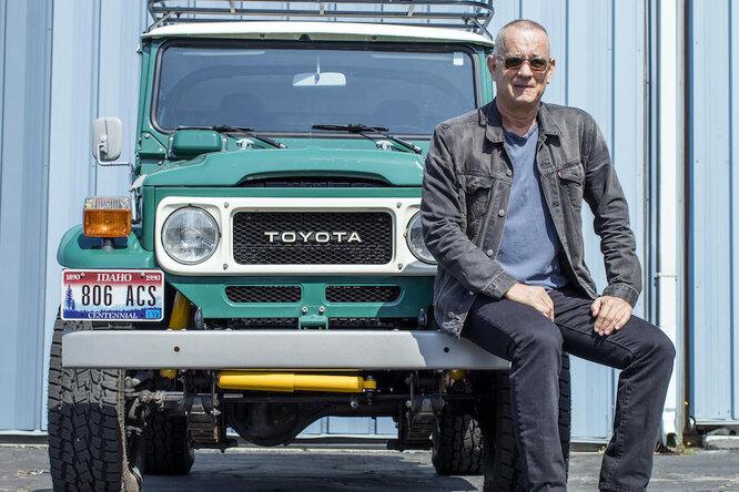 Том Хэнкс решил расстаться сэксклюзивным Land Cruiser