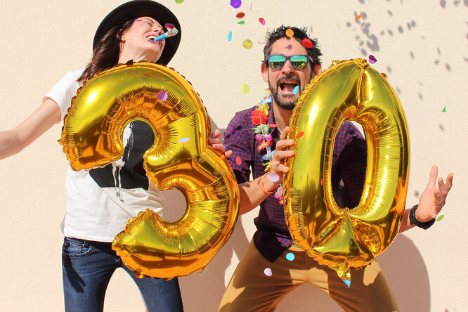 Исследование: люди чувствуют себя счастливее после 30 лет