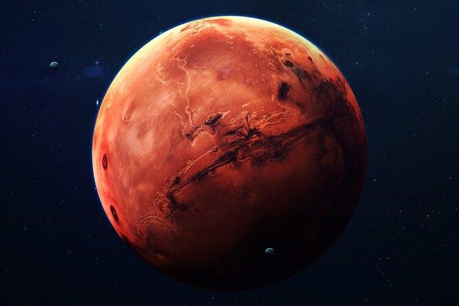 10 удивительных открытый, сделанных наКрасной планете