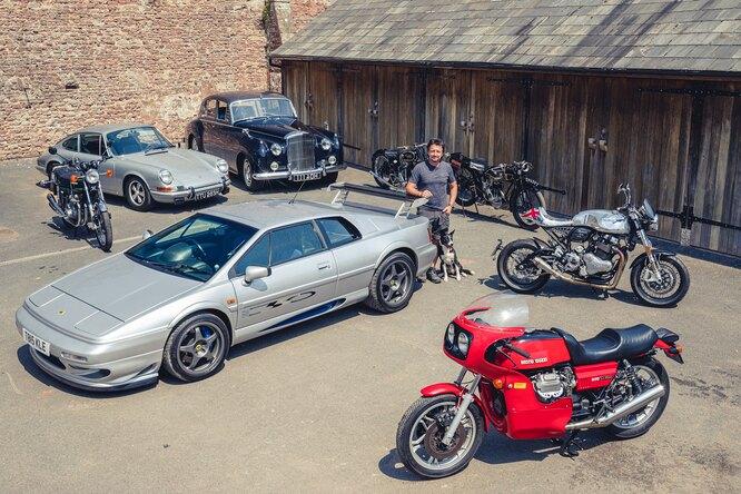Ричард Хаммонд продаст часть своей коллекции автомобилей имотоциклов