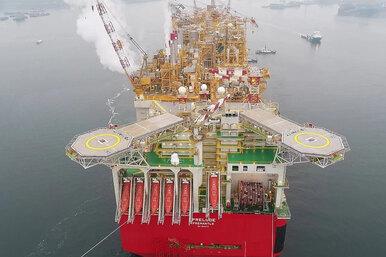 Гигантский плавучий завод: самое крупное судно напланете