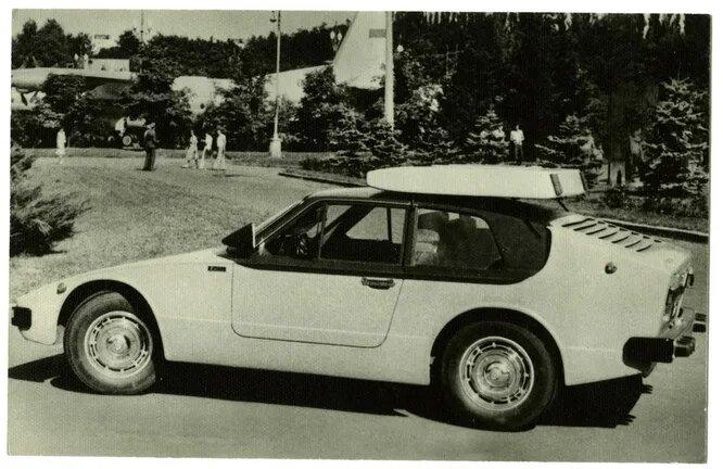 «Золотой лист» Алексея Мельника. Городской автомобиль с пластиковым кузовом купе и двигателем от ЗАЗ-968.