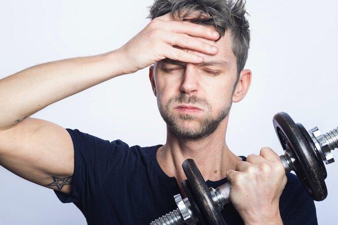 Интенсивные тренировки повышают риск развития заболеваний центральной нервной системы