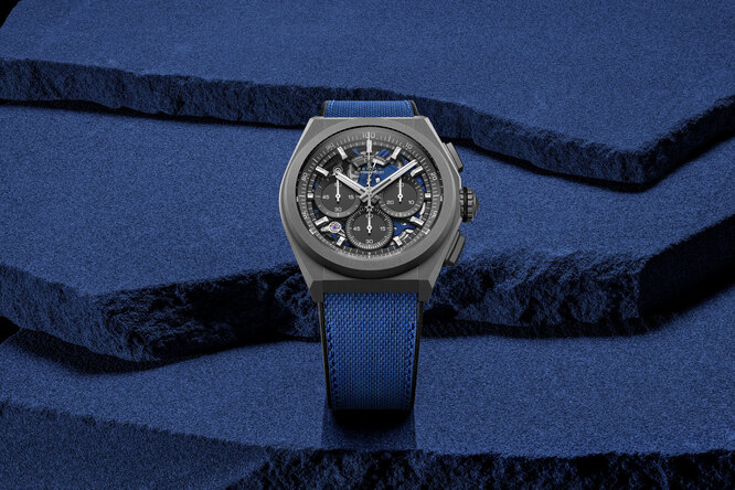 Компания Zenith представила часы DEFY 21 Ultrablue