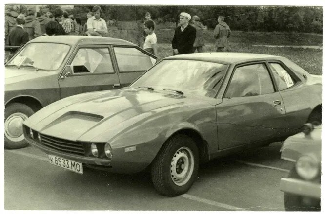 «Ласка» Владимира Мищенко. Молодёжный автомобиль компоновки 2+2 с двигателем от ВАЗ-2103.