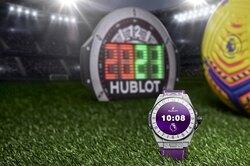 Часовой бренд Hublot, официальный хронометрист Премьер-лиги, выпустил новую модель смарт-часов Big Bang e Premier League