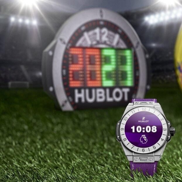 Hublot совместно санглийской Премьер-лигой создал новую модель смарт-часов Big Bang e Premier League