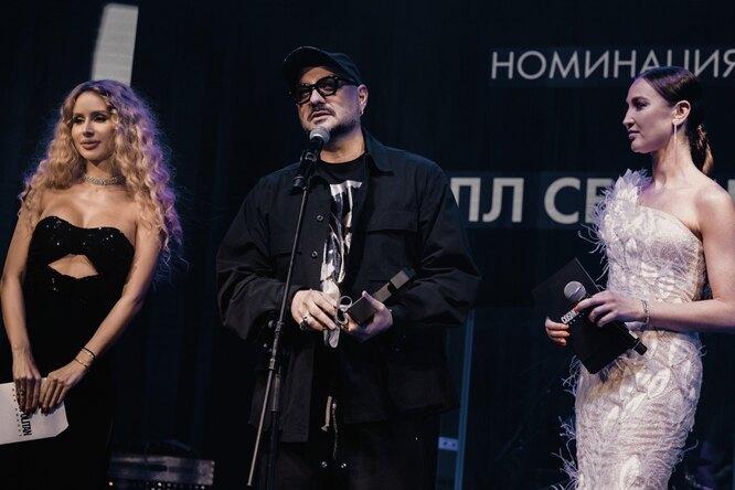 Фёдор Бондарчук, Кирилл Серебренников, Аида Гарифуллина иСергей Лазарев напремии Cosmopolitan Man Awards