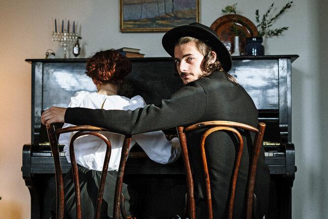 Борода, ученье, секс идругие элементы мужского мира иудея-ортодокса