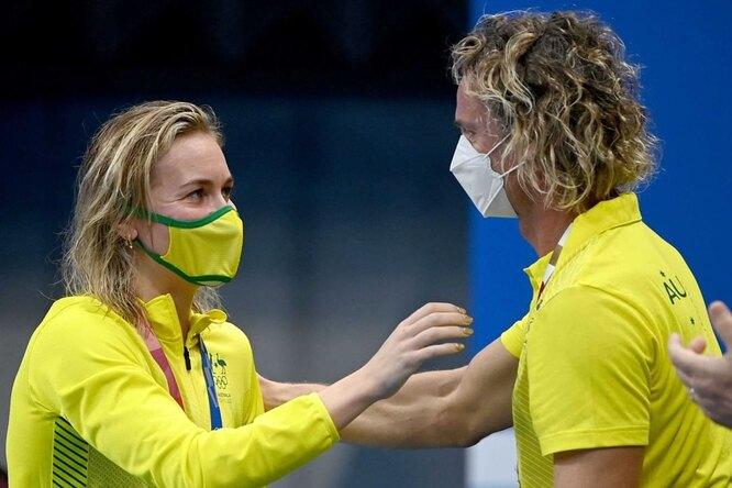 Австралийский тренер поплаванию стал мемом Олимпиады вТокио