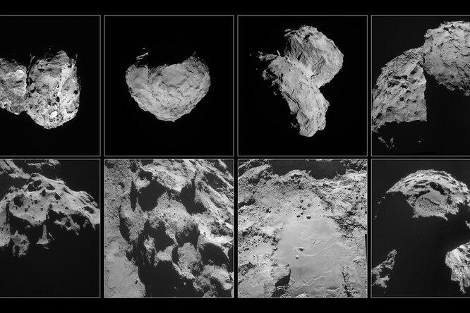 Что находится внутри кометы Чурюмова-Герасименко