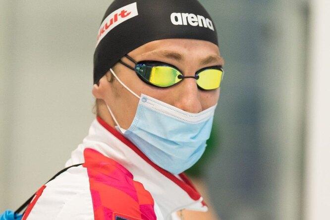 Российский пловец пропустит Олимпиаду из-за коронавируса
