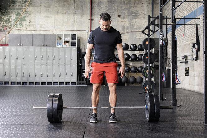 4 варианта становой тяги длятренировки разных групп мышц