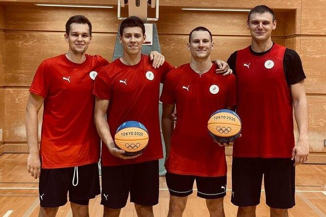 Вслед заженской сборной: мужчины выиграли серебро вбаскетболе 3х3