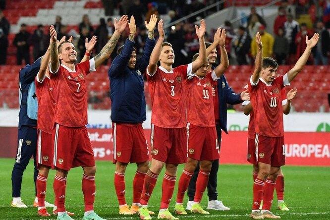 Сборная России одержала вторую победу подряд вотборочном турнире ЧМ-2022