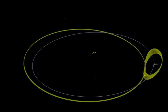 Через астероид — ккомете: китайская космическая миссия