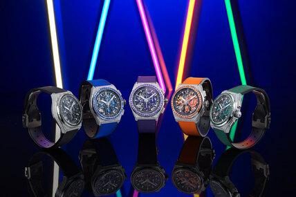 Твердая пятерка: часы Zenith DEFY 21 Spectrum сдрагоценными камнями