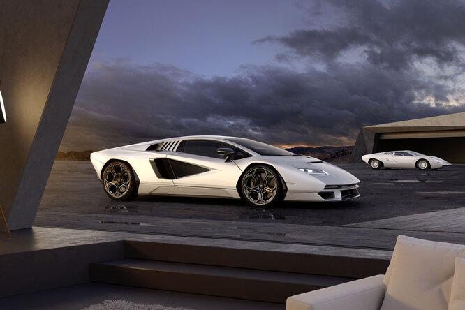 Возрождение легенды: новый Lamborghini Countach вышел вгод 50-летия модели
