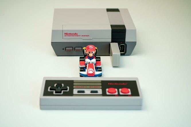 Игру Super Mario 1986 года продали за660 тысяч долларов