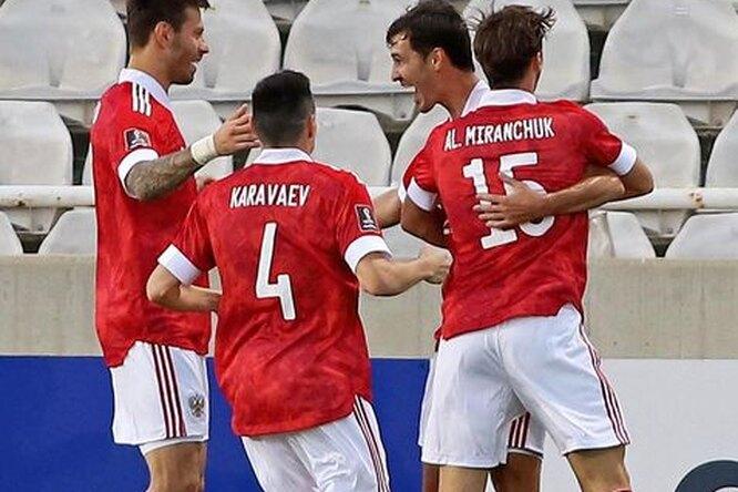 Сборная России пофутболу лишилась игрока передматчем против Мальты