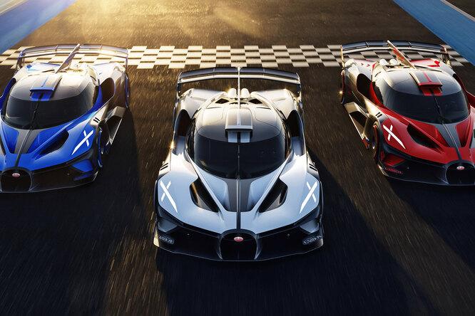 Фантастический гиперкар Bugatti Bolide воплотят всерийной модели