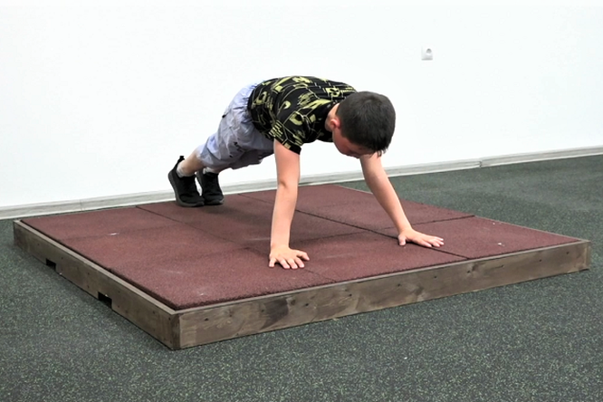 Десятилетний россиянин установил новый мировой рекорд поотжиманиям