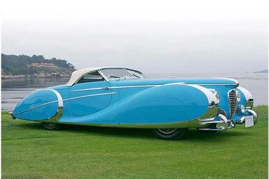 Delahaye: самые элегантные автомобили вистории