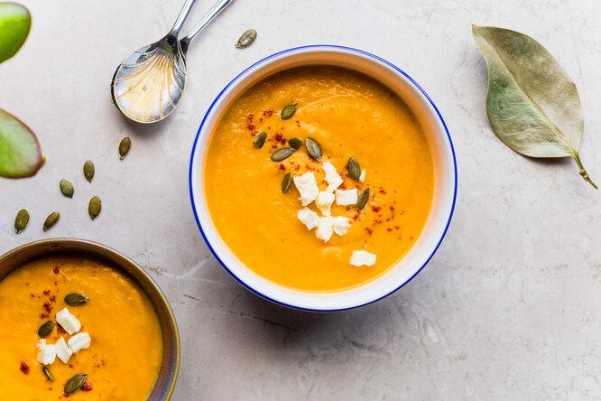 Рецепт тыквенного супа дляотменной памяти иконцентрации